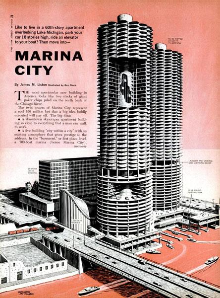 Marina City - History