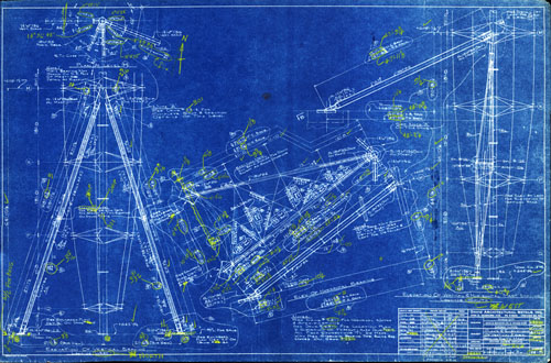 Marina city history broadcast tower blueprints broadcast tower blueprint 1963 64 david architectural metals inc malvernweather Choice Image